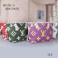фирменные сумочки для ремня оптовых-Новый листинг плечо бросил L andV NEVERFULL старый цветок хозяйственная сумка пакет ребенка grils сумка + кошелек M44568