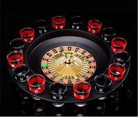 roleta russa venda por atacado-[TOP] 16 Shot Glass Deluxe Russa Roleta de Poker Roulette Chips Beber Conjunto de Jogos de Festa Suprimentos Vinho Jogo Adulto Beber Jogo