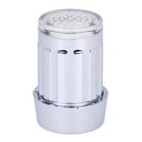 grifo de corriente al por mayor-7 colores RGB Glow Shower LED Faucet Light Water Shower Head Stream Sink Tap torneira Baño Accesorios de Cocina Envío Gratis