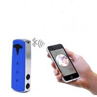 mavi araba stereo toptan satış-Mavi Mikro USB Modeli F2 Bluetooth Alıcısı FM Verici Bluetooth Araç Kiti