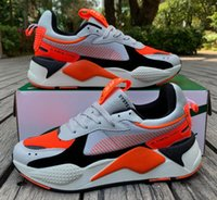 Wholesale match brand casual shoes resale online - 2019 new color matching Desiner Sneakerx Transformers RS X Runner retro coconut running shoes Women men s tide brand sports casual shoes