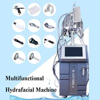 Wholesale facial scrubbers for sale - Hot Sale in Microdermabrasion Hydra Facial Deeply Cleaning Diomand Dermabrasion Jet Peeling Skin Scrubber Machine with handles