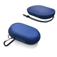 naylon taşıma çantası toptan satış-BO BeoPlay P2 Bluetooth hoparlör naylon kılıf Taşınabilir Koruma çantası Dağ toka tasarım ile High-end Hoparlör Durumda taşıması kolay