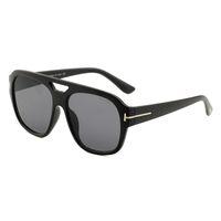 ford spiegel großhandel-2019 luxus große qualtiy mode tom sonnenbrille 0630 für mann frau erika brillen ford sonnenbrille spiegel brillen versandkostenfrei