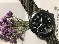 тканевые наручные часы оптовых-2019 роскошные модные мужские часы кварцевые хронометража верхний ремешок из нержавеющей стали многофункциональные кварцевые часы