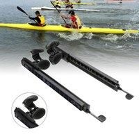 набор пегаса оптовых-Набор Kayak Canoe Foot Brace Pegs Set Kit Система Регулируемые педали Стекловолокно из нейлона Аксессуары для каяков