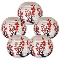 flores de papel japonês venda por atacado-5 pçs / lote 16