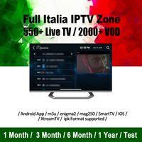 android tv ios großhandel-Abonnement IPTV 6000+ Live-Kanal-Abonnement Iptv-Code für Android iOS-App Smart TV Magbox Europa Indien Asien Großbritannien USA Brasilien Kanada IPTV