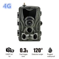 Wholesale sms security cameras for sale - 2019 G Hunting Trail Camera HC LTE p Video Transmission Wireless SMS Control Security Camera Outdoor Surveillance
