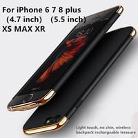 baterias romoss venda por atacado-Bateria Externa Caso Carregador de Bateria de Carregamento de Cobertura para iPhone8 / 7/6/6 S / 6/6 S / 7/8 plus / iPhone X / XS / XS MAX / XR Mobile Shell Mochila de Carregamento