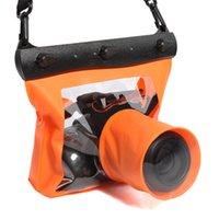 bolsa à prova d'água subaquática venda por atacado-À prova d 'água Saco Subaquático Caso HD Universal Photographic Protect Para SLR / DSLR Camera UY8