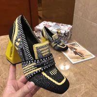 ingrosso tacchi beige t-2019 Designer Donna Colorful Sandali con tacco Top quality T-strap Scarpe con tacco alto Ladies Dress in pelle verniciata Single Shoes fashion des