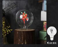lâmpada vela vermelha levou venda por atacado-LED Edison Lâmpada E14 E27 3 W C35 C35L G80 Chama de Iluminação de Incêndio Do Vintage Cintilação Efeito de Tungstênio Novel Vela Lâmpada de Ponta Laranja Vermelho