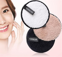 Wholesale makeup cleansing puff for sale - Group buy Make up remover promotes healthy skin Microfiber Cloth Pads Remover Towel Face Cleansing Makeup Lazy cleansing powder puff