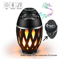 Wholesale Wireless Bluetooth Flame Speaker Stereo With Night Lights Waterproof Altavoces Altoparlante