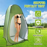Wholesale outdoor toilets for sale - Group buy Portable Outdoor Shower Changing Fitting Room camping Tent Shelter Beach Privacy Toilet tent for outdoor Shelter Tent