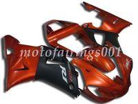 laranja r1 venda por atacado-Novo estilo kit de carenagens abs apto para yamaha yzf-r1 r1 2000 2001 00 01 personalizado livre laranja e preto