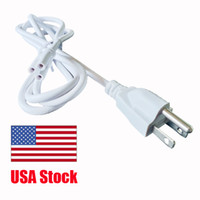 Wholesale pin extension cable wire for sale - Group buy led accessory wire T5 T8 Connector Cable Power Cords with on off switch power three proung Pin plug Extension Cord