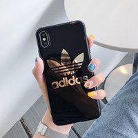 Wholesale gold plated cell phone cases for sale – best luxury designer phone case For iphone plus xs max XR plating gold high end quality Cell phone back cover