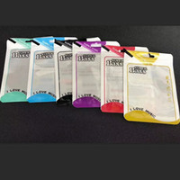 Wholesale retail cell phone opp bags for sale – best 100pcs per cm Plastic zipper clear Retail Packaging bag USB cell phone cable hang hole opp bag for package bags