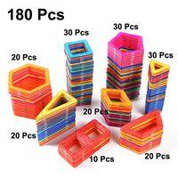 ímãs bucky venda por atacado-180 pcs todos os blocos de construção magnéticos construção crianças brinquedos brinquedos educativos