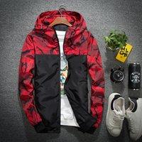 ingrosso giacca modello nuovo-New fashion Uomo Primavera Autunno Windrunner giacca Sottile Cappotto, uomini giacca sportiva giacca a vento modelli esplosione coppia clothin uomo M14