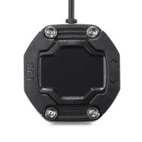 neumáticos de moto envío gratis al por mayor-EBAT ET - Sistema de monitoreo de presión de neumáticos de motocicleta 900AE a prueba de agua con 2 sensores de tapa de válvula Pantalla a prueba de polvo inalámbrica Envío gratis