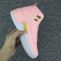 Wholesale basketball shoes size 5.5 8.5 for sale - Group buy women shoes XII GS Pink Lemonade Basketball Shoes Womens s Valentine s day taxi XII Sneakers Size us