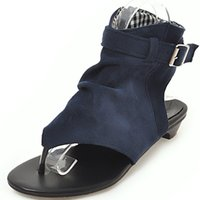 Wholesale cool casual shoes for women for sale - Group buy Hot2019 Bottom Flat Sandals Woman Noodles High Help Toe Will Women s Shoes Summer Cool Boots For Many Years Living