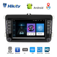2gb ram chinesisch mobil groihandel-Hikity 2 Din Car Stereo Radio 7 '' Android GPS Navigation HD Autoradio MP5 Multimedia Player ISO / Android Mirrorlink für VW Autos