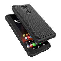 parachoques de impacto al por mayor-Para OnePlus 5 6T en TAxia Qs5509a Híbrido amortiguador Mejor impacto Parachoques Defensor robusto Plástico exterior Caucho Silicona Estuche interno