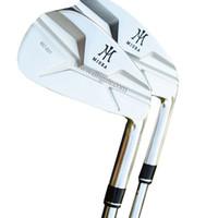 set de set de golf al por mayor-Nuevos hombres Clubes de golf MIURA MC-501 set de hierros 4-9P Hierros de golf Club Stee shaft o Graphite R o S Golf shaft Envío gratis