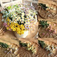 Wholesale flower daisies resale online - 42cm Heads Artificial Flowers Silk Daisy Flowers Fake Flowers Wedding Party Decoration Home Vases Decoration