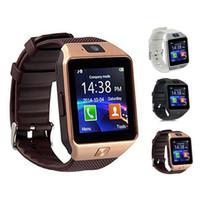 armband handy großhandel-Heißer verkauf dz09 smart watch dz09 uhren armband android watch smart sim intelligente handy schlafzustand smart watch