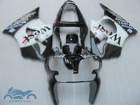 Wholesale kawasaki zx6r fairings parts online - ABS fairings kit for KAWASAKI ninja ZX6R black west ZX R body fairing parts