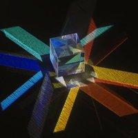 diodo laser azul venda por atacado-Ensino Aid Cor Toy Matching Espelho Toy Laser Beam Combine cubo de seis lados prisma espelho para laser azul Módulo de diodo de brinquedo