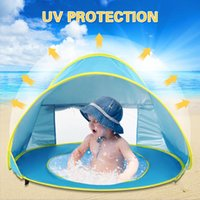 Wholesale travel blue accessories resale online - Camping Tent Up Tent Summer Sea Polyester Sun Shelters Travel Hiking Beach Garden Outdoor Water Camping Accessories