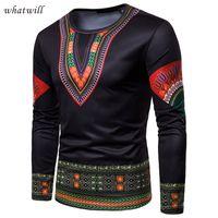 kleid bademäntel traditionellen großhandel-3d gedruckt afrika kleidung herrenmode afrikanische kleidung casual robe africaine hip hip dashiki t-shirts