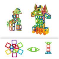 metal yapı taşları toptan satış-BD Manyetik Yapı Taşları 60 ADET Eğitim modeli inşa kitleri oyuncaklar çocuklar için İnşaat Modelleri Manyetik Yapı Taşları