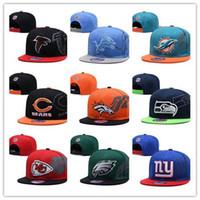 amerikan futbolu sporları toptan satış-Toptan Yeni Amerikan futbolu Spor Takımı Cleveland-B Kaliteli Erkekler veya Kadınlar Için Snapbacks Kapaklar ve Şapkalar