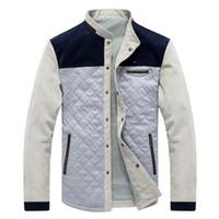 бейсбольный костюм оптовых-College Jacket male streetwear coat tracksuit 2018 Spring Autumn  Clothes Man Casual Jackets baseball jaquetas de couro Men