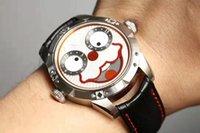 relógios russos venda por atacado-2019 venda quente Coringa Russa novo relógio importado movimento de quartzo sorriso face dial 42mm relógio de moda