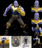 Wholesale figures for sale - Group buy Thanos Action Figures Doll Inch Come With Box Packaging Avengers Endgame Avengers Infinity Gauntlet Game Doll Toys Best Gifts For Kids