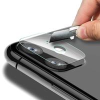 стеклянные линзы 3d оптовых-Для iPhone 11 Pro Max задней защиты объектива камеры экрана Закаленное стекло пленка для Smartphone сотового телефона Новое прибытие