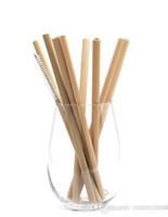 ingrosso price bamboo-Cannucce di bambù di paglia di bambù di 20cm Cannucce di bambù naturali riutilizzabili amichevoli di Eco riutilizzabili Prezzo basso ANI-391