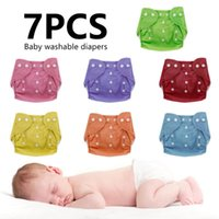 Wholesale nappy diaper summer for sale - Group buy Baby Diapers Reusable Washable Nappies Grid Cotton Training Pants Cloth Diaper Baby Fraldas Winter Summer Panties Underwear