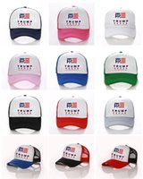 Wholesale punk boy cap resale online - New Arrival Donald Trump Ball Cap Fitted Snapback Baseball Hats Hip Hop Punk Snapbacks USA Caps Baseball cap printed letter Hats D3402