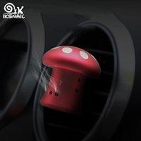 poseedores de aromas al por mayor-Difusor de aire interior linda IKSNAIL seta del aroma en el coche ambientador de aire auto salida de ventilación del sostenedor del perfume Accesorios para auto