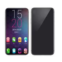 speichert freischalt-handys groihandel-Entsperrtes Goophone XS maximales 6.5inch 1GB 4GB / 8GB Show 512GB mit Gesichts Identifikation stützen drahtloses aufladen3g WCDMA GPS Bluetooth androides Mobiltelefon