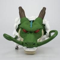 cajas de ahorro al por mayor-Dibujos animados Money Pot Dragon Head Ball Modelo Juguetes Adorno Ahorro Grifo Figurita Caja Embalado Boy Gifts 29 99rn N1